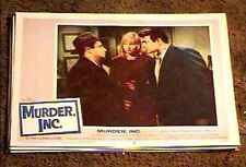 MURDER INC '60 LOBBY CARD #3 VINTAGE CRIME MOB