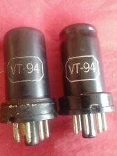 Two used Ken-Rad Vt-94 vacuum tubes