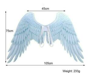 Carnival Party Cosplay Wedding Costume Props Mardi Gras Adult Unisex Angel Wing