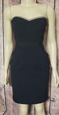 BCBG Black Strapless Dress