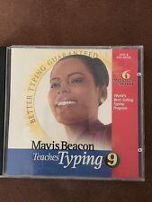 Mavis Beacon Teaches Typing 9- Win 95/98/3.1 Or Win NT