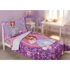 Disney  Sofia Princess in Training 4-Piece Toddler Bedding Set