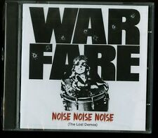 Warfare Noise Noise Noise (The Lost Demos) CD new nwobhm