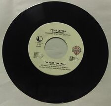 Peter Cetera ~ The Next Time I Fall/Holy Moly ~ WB ~ 7-28597 ~ 45RPM RECORD