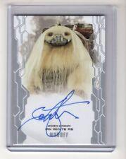 2017 Topps Star Wars Masterwork Autograph Auto Ian Whyte as Moroff