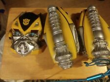 Hasbro Transformers Bumblebee  Helmet Mask Hand Cannons Lot