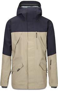 Dakine Mens Sawtooth Gore-Tex® 3L Shell Snowboard Jacket Large Stone / Night Sky