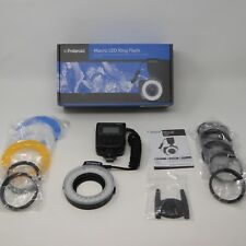 Polaroid Macro LED Ring Flash PLMRFU New Open Box