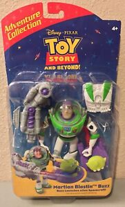 Toy Story 2 Disney Martian Blastin BUZZ Lightyear Action Figure Alien and Beyond