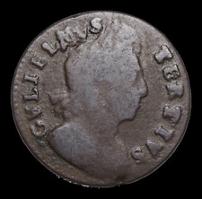 GREAT BRITAIN. William III, Halfpenny, 1701
