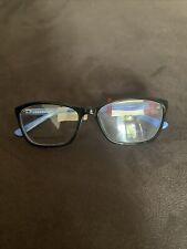 Vera Bradley Blue And Black Eyeglass Frames 54-16-135