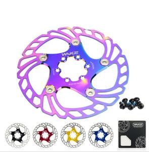 WAKE Bicycle Brake Floating Disc Rotor MTB DH Bike Cooling Disc Heat Dissipation