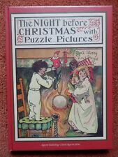 The Night Before Christmas (with Puzzle Pictures). Excellent Reprint of 1907 Ed