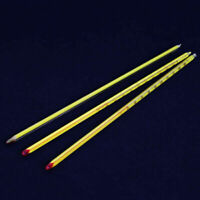 Yellow Glass Celsius thermometer,200℃,Length 300mm Length,Laboratory Glassware