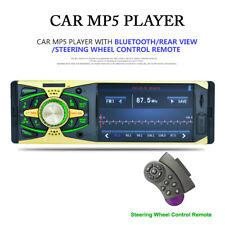 "1 DIN HD Screen Digital Car Radio 4.1"" Bluetooth MP5 Player FM AUX+Remote USB TF"