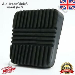 2 Brake/Clutch Pedal Rubber Pads For Nissan Almera MK1 MK2 Cabstar 1995-2013