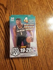 2019-20 Panini Mosaic Basketball NBA Hanger Box Factory Sealed! Zion? Ja?