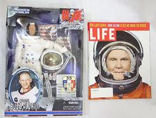 "1999 Hasbro GI Joe Col. Buzz Aldrin Astronaut + Old Life Magazine 12"" Figure MOC"