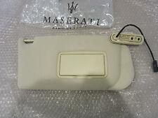 Maserati Ghibli - RH Sun Visor Pearl Beige (NEW) - Part# 66515941