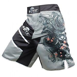 Mma Boxing Shorts Sotf Fight Fitness Pattern Pants Sports Short Trunk Kickboxing