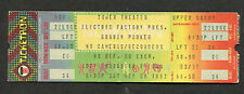 1982 Graham Parker unused full concert ticket Philadelphia The Up Escalator