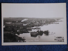 Rossport Ontario Canada/Village Bird's Eye View/Camera Shop of Port Arthur RPPC