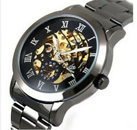 Classic Men's Daily Waterproof Automatic Mechanical Stainless Steel Wrist Watch