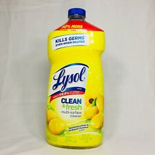 Lyso l Clean Fresh Multi-Surface Cleaner 48oz kill 99.9% virus/Bact. make 20gal.