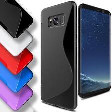 Silikon Schutz Case für Samsung Galaxy TPU Handy Hülle Tasche Cover Schutzhülle