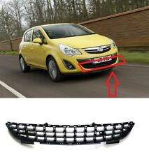 NEW VAUXHALL OPEL CORSA D 2011-2014 FRONT LOWER CENTER BUMPER GRILLE HQ