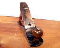 Hand Plane Millers Falls Vintage Smoother Corrugated Bottom Refurbished Sharp