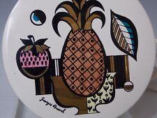 Vintage 1960's Georges Briard Ambrosia Pineapple Trivet Hotplate Warmer