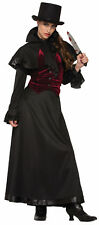 Jackie the Ripper Womens Costume Victorian Gothic Cosplay  Adult Size Standard