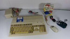 AMIGA 500 Computer (Rev.6a) mit 512kb/Kik1.3/CPJoystick+OVP/Maus/Scart/Spiel