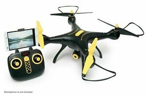 Syma X8SW Wi-Fi FPV Quadcopter Drone 720P HD Camera Altitude Black/Yellow LARGE