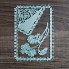 DIY Flower Frame Metal Cutting Dies Scrapbook Embossing Paper Card Album