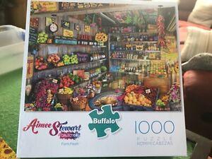Buffalo - 1000 Piece Jigsaw - FARM FRESH  (Aimee Stewart)
