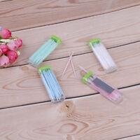 Dental floss toothpicks brush hair 30pcs in plastic mirror box oral hea FR IT fr