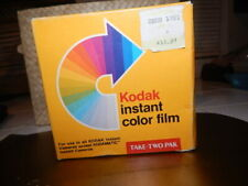 Kodak Instant Color Film Take Two Pack 20 Pictures #PR144-10-2 - Unopened