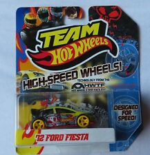 Hot Wheels-equipo Hot Wheels-ruedas de alta velocidad-Ford Fiesta -
