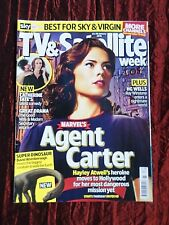 TV & SATELLITE WEEK UK MAGAZINE- 23-29 JAN 2016 - AGENT CARTER -TOM ELLIS