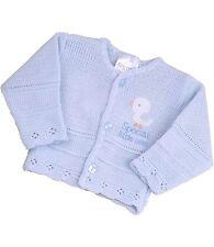 BabyPrem Baby Clothes Micro Preemie Baby Boys Girls Cardigan Cardie 3-5lb 5-8lb Blue 5 - 8lb