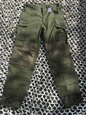 Pantalon guérilla Taille L Kaki Vert Mil-tec Parachutiste camo armée française