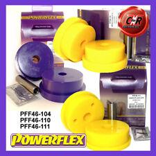 Fits Sunny/Pulsar GTi-R 90-94 Powerflex Eng+Gbox Mnt Bushes PFF46-104/110/111