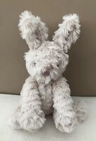 NEW Jellycat Small Fuddlewuddle Bunny Rabbit Soft Toy Baby Comforter Beige BNWOT