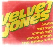 (AV813) Velvet Jones, What The Hell's Going On? - DJ CD