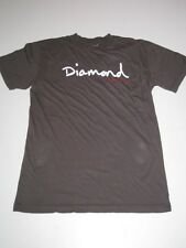 DIAMOND SUPPLY CO Dark Grey White Shirt Company Signature TSHIRT Tee XXL 2XL NEW