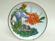 Franklin Porcelain American Wilderness Appalachian Mountains Wild Flowers Plate