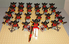 LEGO Minifigures Lot 25 Bat Knights Army Castle Guys Lego Minifigs People Toys