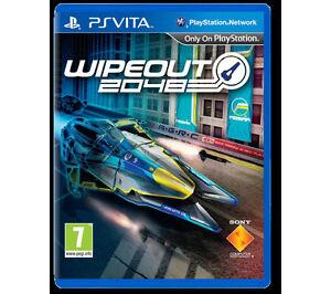 WipEout 2048 (Sony PlayStation Vita, 2012) -VITA wipe out